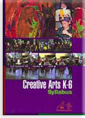 Cover of the Creative Arts K-6 Syllabus