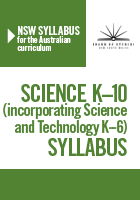cover of Science K-10 Syllabus